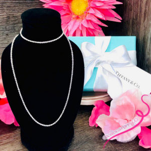 """NWOT Tiffany&Co Paloma Picasso Necklace Chain, 24"""""""